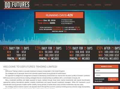 DDFutures Limited screenshot