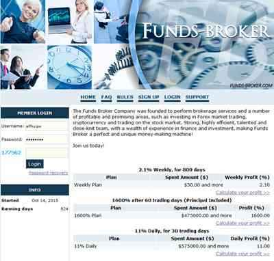 Funds Broker screenshot