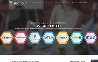 UsdHour.com screenshot