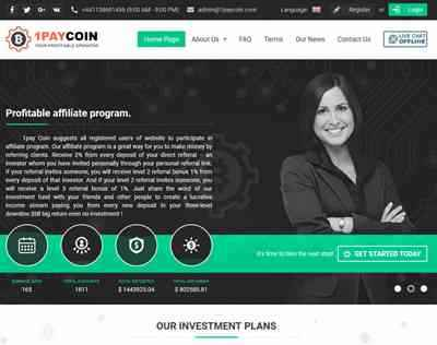 1PayCoin lTD screenshot