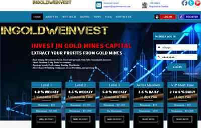 Ingoldweinvest.com screenshot