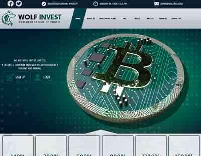 WOLF INVEST screenshot