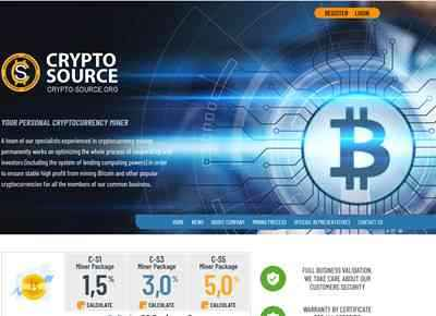 CRYPTO SOURCE LTD. screenshot