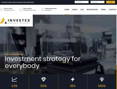 Investex screenshot
