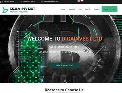 DigaInvest screenshot