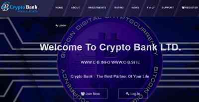 Crypto Bank screenshot
