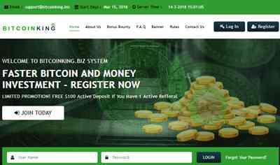 Bitcoin King Investment - bitcoinking.biz 7311