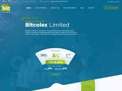 Bitcolex Limited screenshot
