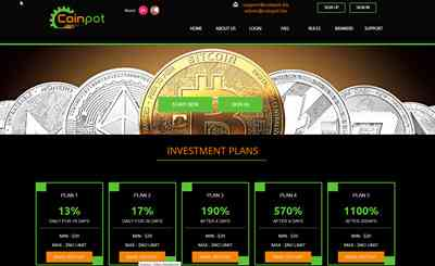 CoinPot LTD screenshot