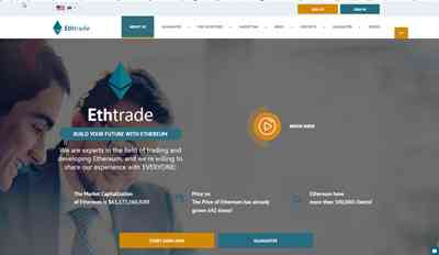 Ethtrade.club screenshot