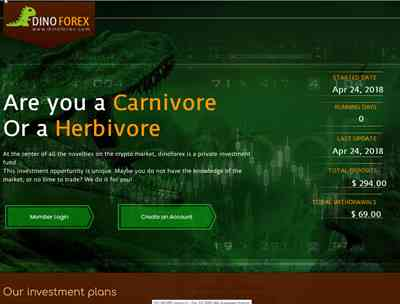 DinoForex screenshot