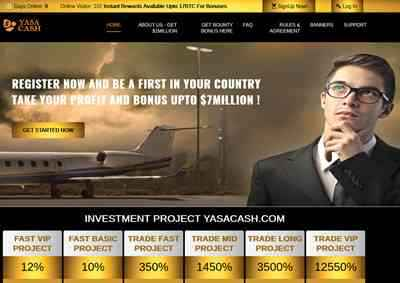 Yasa Cash LTD screenshot