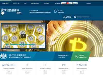 Timelessinvestplan screenshot