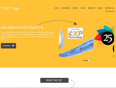 Tend Trade screenshot