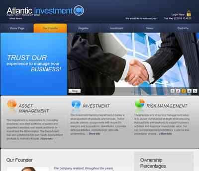 Atlantic Investment screenshot