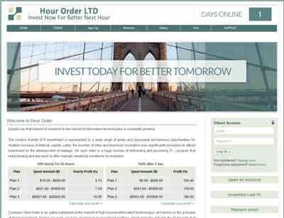 Hour Order screenshot