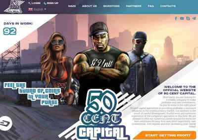 50 CENT CAPITAL screenshot