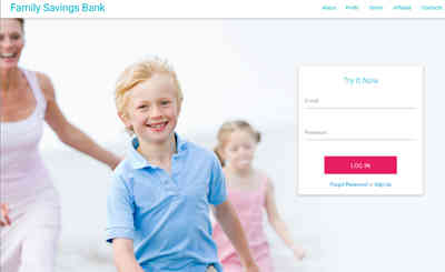 Family Savings Bank screenshot