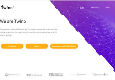 TWINO IO LTD screenshot