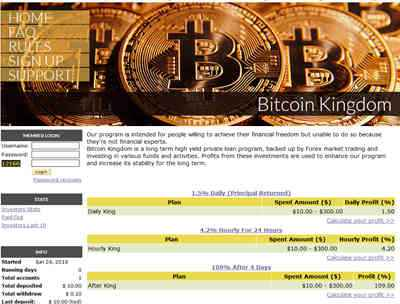 Bitcoin Kingdom Company screenshot