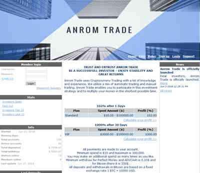 Anrom Trade screenshot