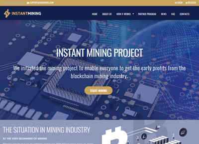 INSTANT MINING screenshot