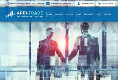 Arbi-Trade LTD screenshot