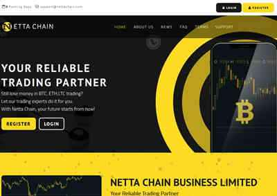 NETTA CHAIN BUSINESS LIMITED screenshot