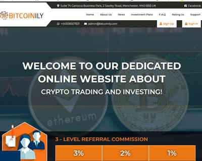 Bitcoinily Finance Limited screenshot