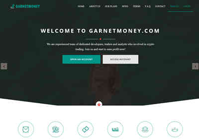 Garnet Money Investment screenshot