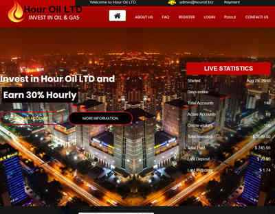 Hour Oil LTD screenshot
