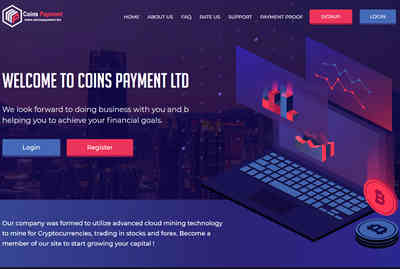 Coins Payment LTD screenshot