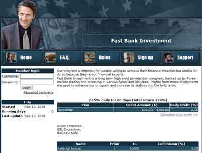 Fast Bank Investment - fastbankinv.online 7747