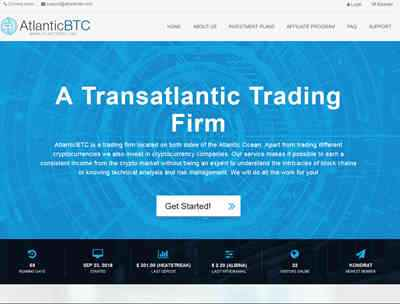 AtlanticBTC screenshot