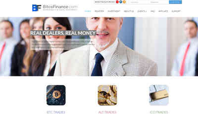 BitcoFinance LTD screenshot