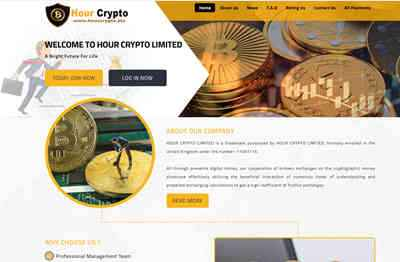 HOUR CRYPTO LIMITED - hourcrypto.biz
