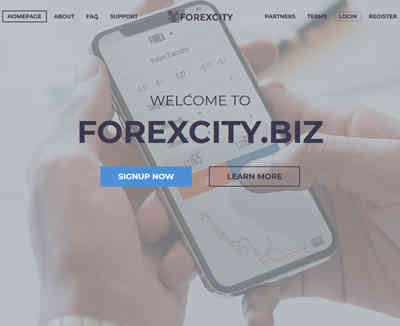 Forex City LTD screenshot