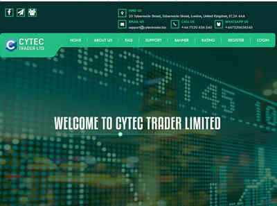 CYTEC TRADER LIMITED screenshot