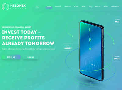HELONEX LIMITED screenshot