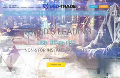 Usd-trade LTD screenshot
