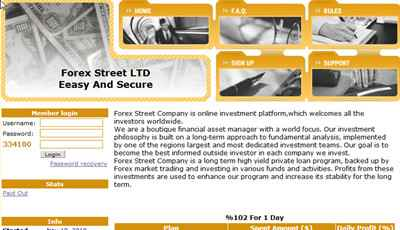 Forex Street LTD screenshot