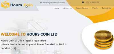 Hours Coin LTD screenshot
