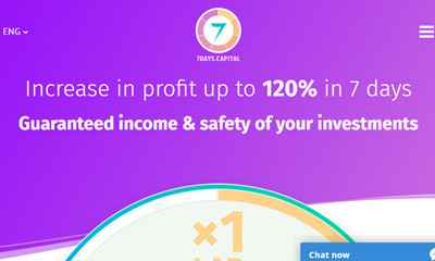 7DAYS CAPITAL LTD screenshot