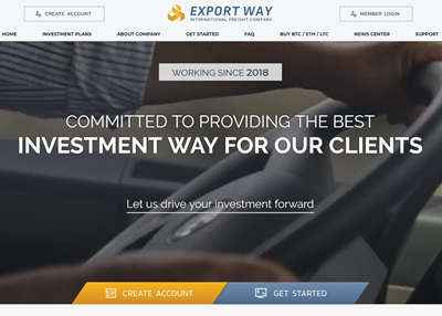 Export Way Limited screenshot