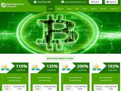 Partisan Hour Investment - partisanhour.com