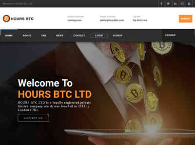 HOURS BTC LTD screenshot