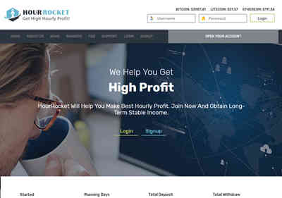 HourRocket LTD screenshot