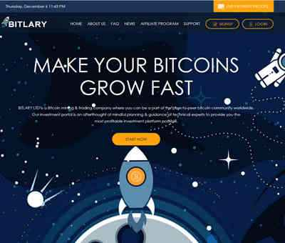 BITLARY LTD screenshot