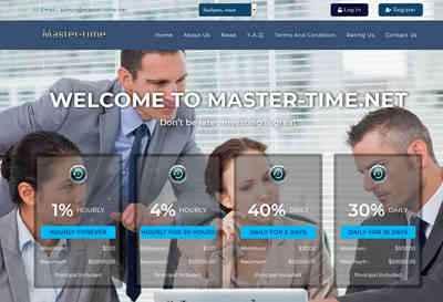 Master-time screenshot