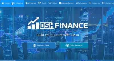 DSH Finance screenshot